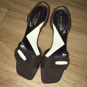 Kate Spade Open Toed Heels